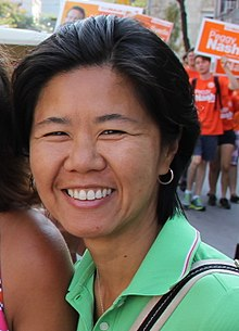 Kristyn Wong-Tam at Labour Day Parade - 2015 (20654849723) (cropped).jpg
