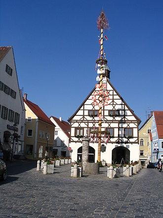 Krumbach, Bavaria - Image: Krumbach centrum