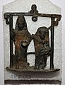 Kubera and Hariti - Bronze - Kushan Period - ACCN SOI-173 - Government Museum - Mathura 2013-02-24 6630.JPG