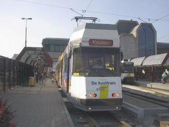 Coast Tram (Belgium) - Image: Kusttram