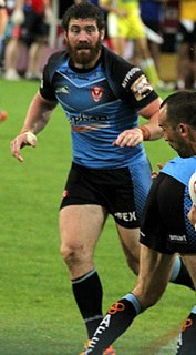 Kyle Amor Ireland international rugby league footballer
