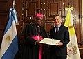 Léon Kalenga Badikebele and Mauricio Macri 02.jpg