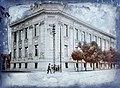 Lónyai János út (Strada Iuliu Maniu), az Osztrák-Magyar Bank kirendeltsége (ma egy biztosítótársaság épülete). Fortepan 86580.jpg