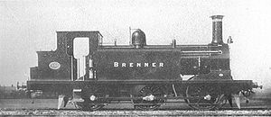 LB&SCR E1 class - E1 class, 155 Brenner
