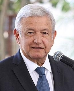 Andrés Manuel López Obrador President of Mexico since 2018