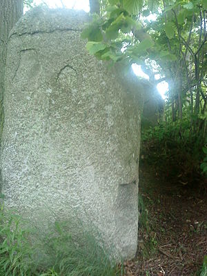 Lancken-Granitz dolmens - Image: LG Dolmen 3 Wächterstein