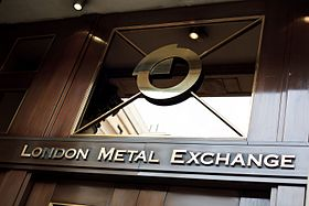 illustration de London Metal Exchange