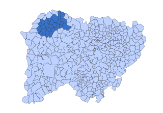 La Ramajería Comarca in Castile and León, Spain