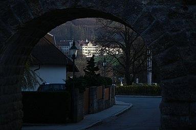 Laab am Walde - Klosteranlage der Barmherzigen Schwestern vom hl Vinzenz von Paul, Bierbrunnenaquädukt 2014 2.jpg