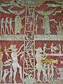 Ladder of Salvation fresco, Chaldon 11.JPG
