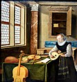 Lady Playing the Lute, 1610s, by Hendrick van Steenwyck the younger (1580-1640). Nationalmuseum, Stockholm, Sweden.jpg