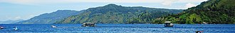 Lake Toba - Image: Lake Toba banner