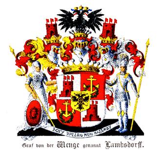 Alexander Graf Lambsdorff -  Lambsdorff coat of arms