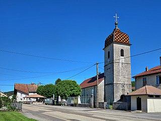 Landresse Commune in Bourgogne-Franche-Comté, France