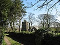 Lane leading to the lych gate of St Mary's Church , Llanfairynghornwy - geograph.org.uk - 1234234.jpg