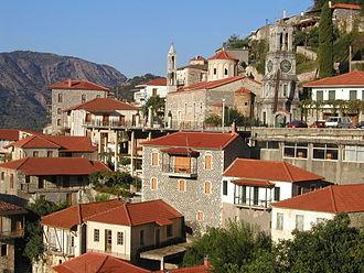 Langadia, Arcadia - Traditional houses of the village