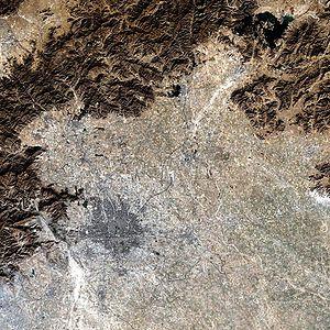Large Beijing Landsat