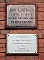 Larkin plaques, The Globe, Park Road.jpg