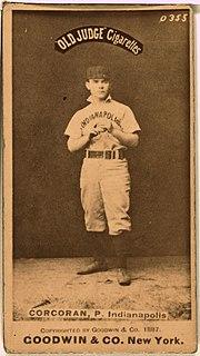 Larry Corcoran American baseball player