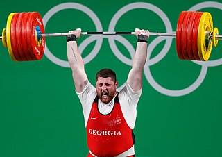 Olympic weightlifting individual sport