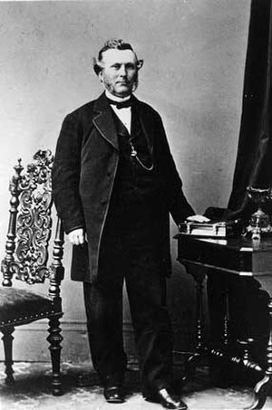 Lockwood–Mathews Mansion - Railroad and banking magnate LeGrand Lockwood