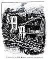 Le Lyon de nos pères, Vingtrinier et Drevet, 1901, page 332, dessin de Joannès Drevet, l'inondation de 1856, maisons détruites aux Broteaux.jpg