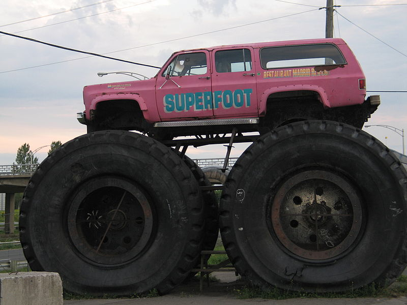 Bigfoot truck