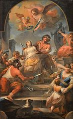 The Martyrdom of St. Agatha