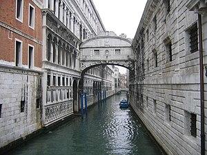 Le pont des soupirs - Le pont des Soupirs, Venice