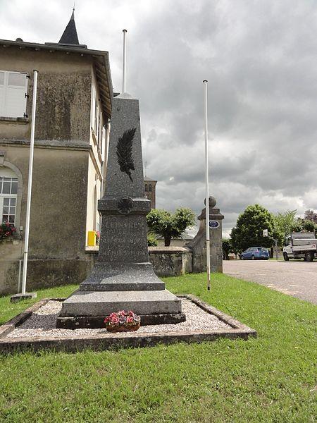 Leintrey (M-et-M) monument aux morts