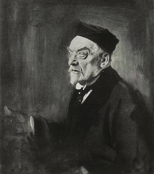 Leo Samberger - Portrait des Malers Gabriel von Hackl