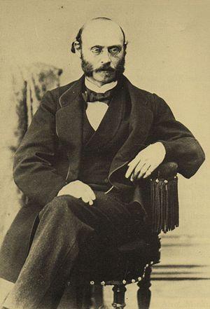 Maestro Ludwig Minkus. Paris, circa 1870