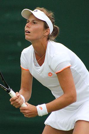 Varvara Lepchenko - Lepchenko at the 2014 Wimbledon Championships