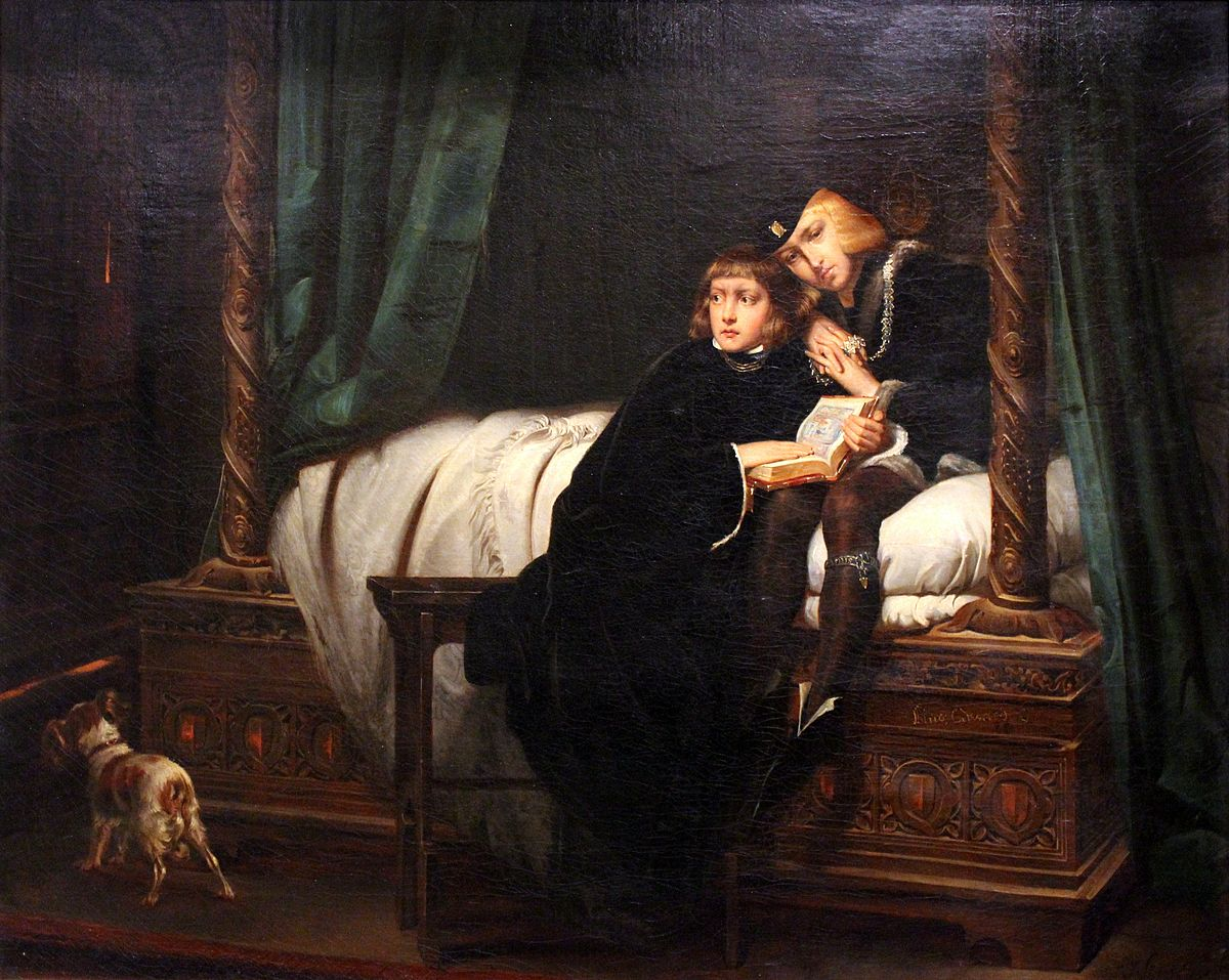 Les Enfants d'Édouard (Delaroche) — Wikipédia Execution Of Lady Jane Grey