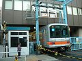 Level crossing Metro Ginza Line Ueno Depot-3.jpg