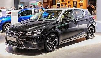 Lexus CT - 2017 facelift at Frankfurt Auto Show 2017