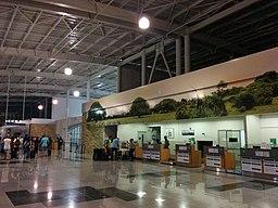 Liberia Airport Main Building Checkin Area