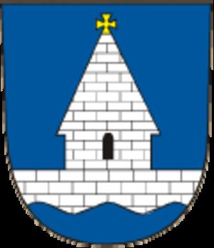 Libice nad Cidlinou - Image: Libice nad Cidlinou znak