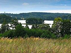 Lielais Kumpinišku ezers, Medumi Parish, Latvia.jpg
