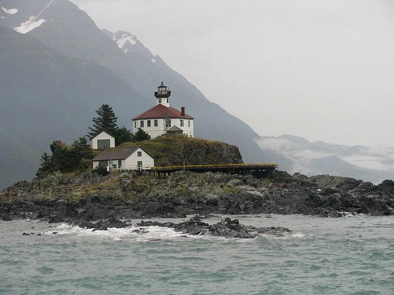 File:Lighthouse on Eldred Rock, Alaska.jpg