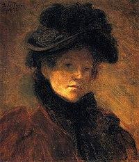 Lilla Cabot Perry, 1892 - Self Portrait.jpg
