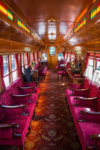 Disneyland Railroad - Image: Lilly Belle (28099523610)