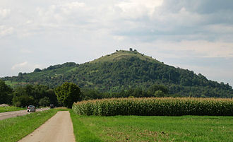 Limburg (Weilheim an der Teck) - Limburg, view from the east