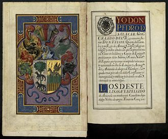 Arrazola - Enlightened certification of Spanish nobility (1646)