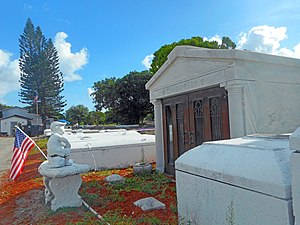 Dana A. Dorsey - Lincoln Memorial Park - Mausoleum of Dana A Dorsey