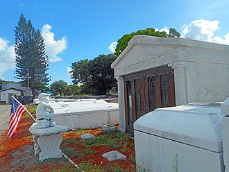Dana A. Dorsey - Lincoln Memorial Park - Mausoleum of Dana A Dorsey