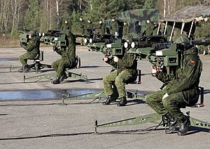 Air Defence Battalion (Lithuania) - Image: Lithuanian Stingers