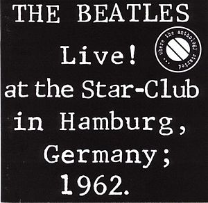 English: Live at the Start Club album cover of...