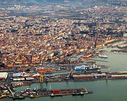 View of Livorno