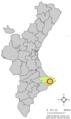 Localització de Senija respecte del País Valencià.png